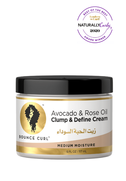 Avocado & Rose Bounce Curl Cream
